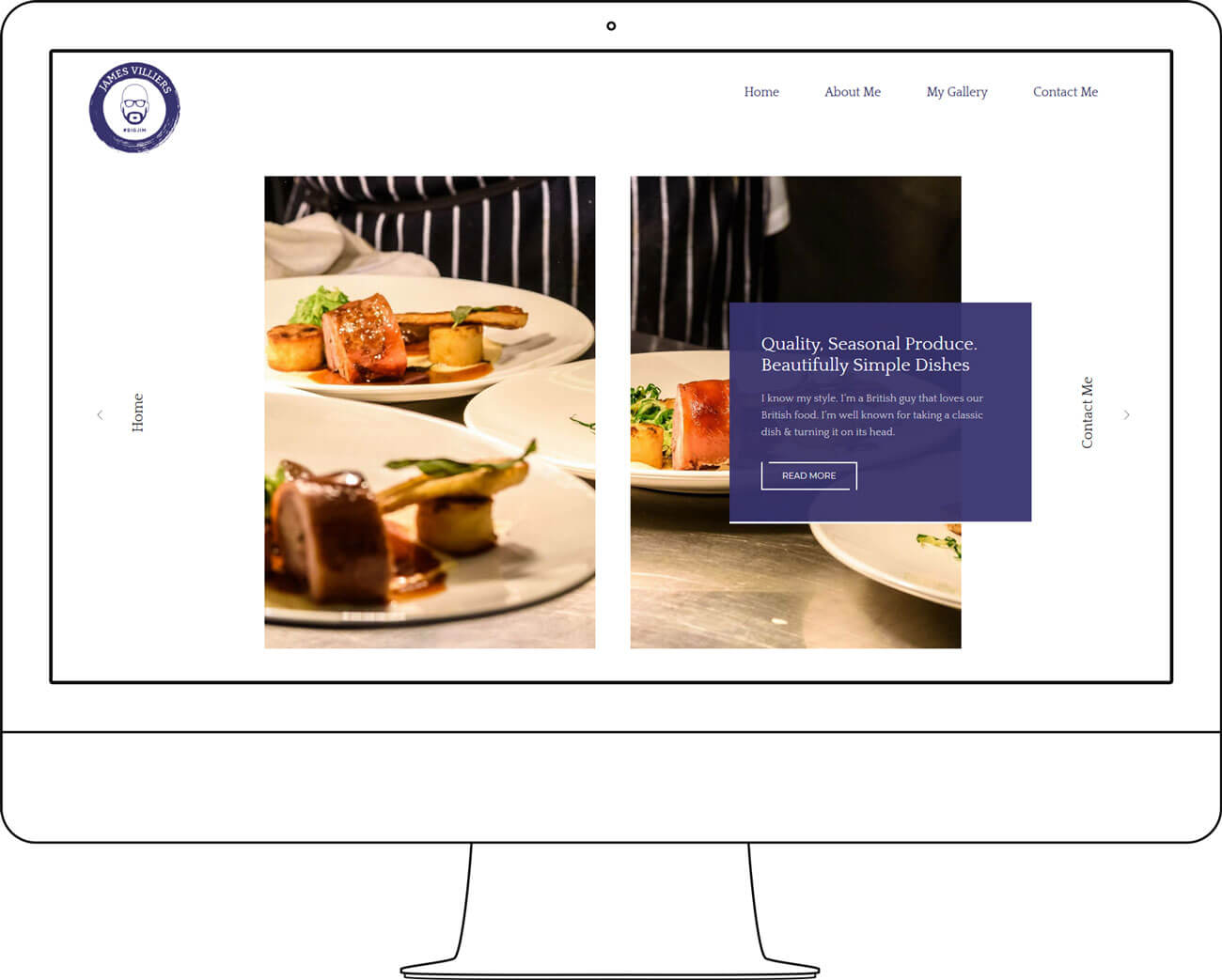 chef james villiers website